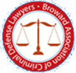 Logo Recognizing Law Offices Of Robert David Malove's affiliation with Broward Association of Criminal Defense Lawyers