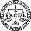 Logo Recognizing Law Offices Of Robert David Malove's affiliation with Florida Association of Criminal Defense Lawyers
