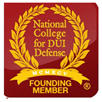 Logo Recognizing Law Offices Of Robert David Malove's affiliation with National College DUI Defense Founding Member